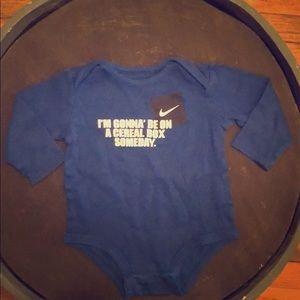 Nike Long-Sleeve Onesie